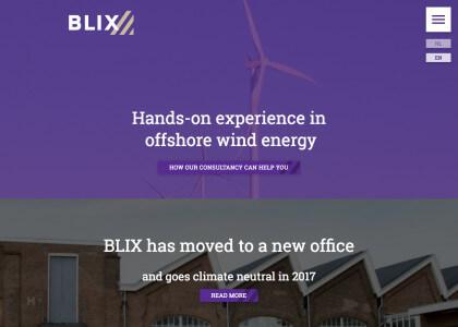 BLIX huisstijl en website